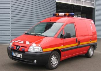 Véhicule poste de commandement léger, Sapeurs-pompiers, Vendée (85)