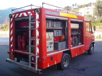Véhicule de secours routier, Sapeurs-pompiers, Haute-Corse (2B)