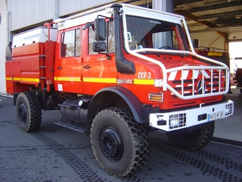 Camion-citerne pour feux de forêts, Sapeurs-pompiers, Haute-Corse (2B)