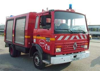 Véhicule de secours routier, Sapeurs-pompiers, Drôme (26)