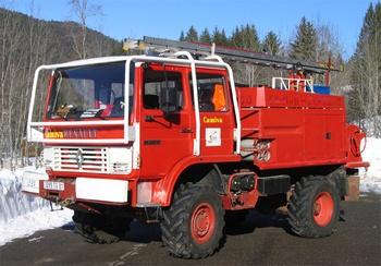 <h2>Camion-citerne pour feux de forêts - Lelex - Ain (01)</h2>