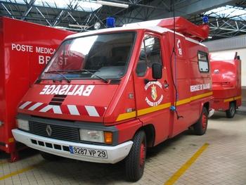 Véhicule de protection et de sécurité, Sapeurs-pompiers, Finistère (29)
