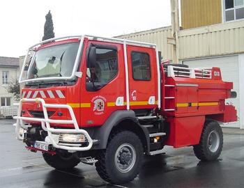 <h2>Camion-citerne pour feux de forêts - Cognac - Charente (16)</h2>