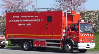 Véhicule de dépollution, Sapeurs-pompiers, Yvelines