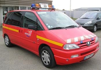 Véhicule de liaison, Sapeurs-pompiers, Loire-Atlantique (44)