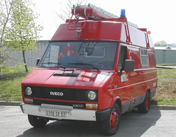 Véhicule de première intervention, Sapeurs-pompiers, Aisne (02)
