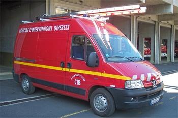 Véhicule pour interventions diverses, Sapeurs-pompiers, Haute-Loire (43)
