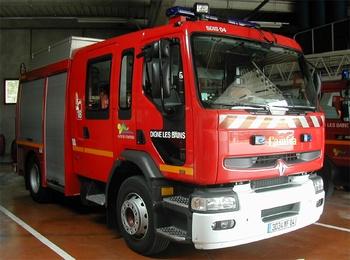 Fourgon-pompe tonne, Sapeurs-pompiers, Alpes-de-Haute-Provence (04)
