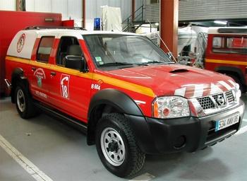 Véhicule pour interventions en milieu périlleux, Sapeurs-pompiers, Alpes-Maritimes (06)