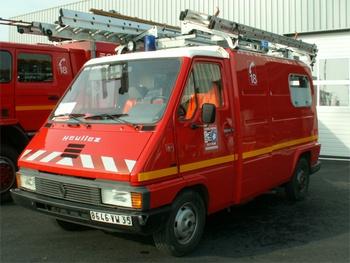 Véhicule pour interventions diverses, Sapeurs-pompiers, Ille-et-Vilaine (35)
