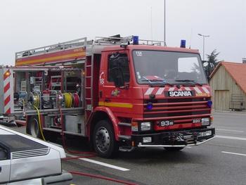 Véhicule de secours routier, Sapeurs-pompiers, Haut-Rhin (68)