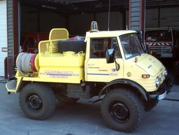 Camion-citerne pour feux de forêts, Défense des forêts contre les incendies, Hérault (34)