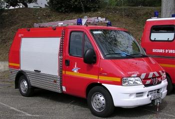 Véhicule de première intervention, Service de sécurité incendie, Landes (40)