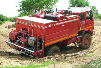 <h2>Camion-citerne pour feux de forêts - La Baule - Loire-Atlantique (44)</h2>