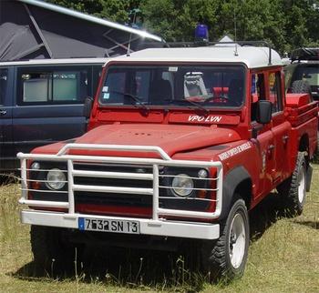 Camion-citerne pour feux de forêts léger, Marins-pompiers de Marseille, Bouches-du-Rhône