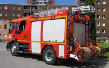 Fourgon-pompe tonne, Sapeurs-pompiers, Haute-Savoie
