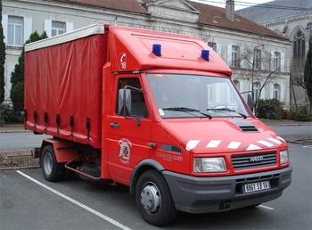 Véhicule éclairage et ventilation, Sapeurs-pompiers, Charente