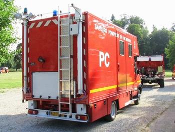 Véhicule poste de commandement, Sapeurs-pompiers, Morbihan (56)