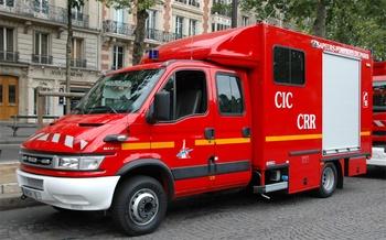Véhicule radiologique et chimique, Sapeurs-pompiers,  ()