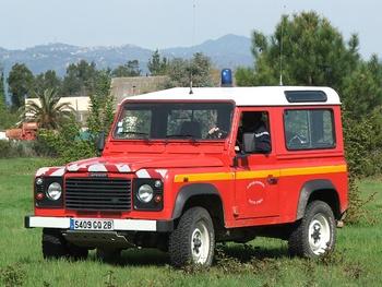 Véhicule de liaison, Sapeurs-pompiers, Haute-Corse (2B)