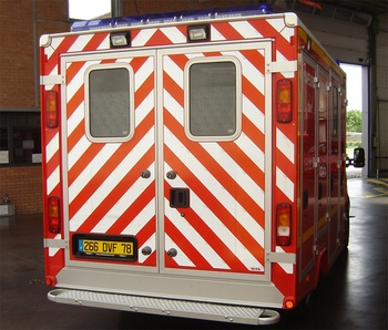Véhicule de secours et d'assistance aux victimes, Sapeurs-pompiers, Yvelines