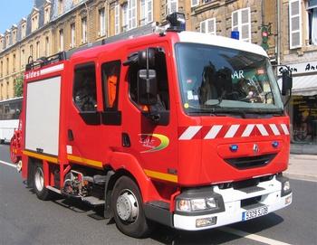 Fourgon-pompe tonne léger, Sapeurs-pompiers, Ardennes