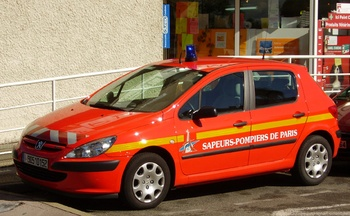 Véhicule de liaison, Service de sécurité incendie, Landes (40)