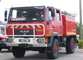 <h2>Camion-citerne pour feux de forêts - Saint-Esprit - Martinique (972)</h2>