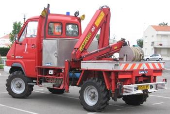 <h2>Camion-grue - Beauvoir-sur-Mer - Vendée (85)</h2>