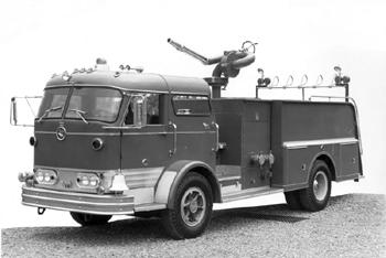 Satellite sur châssis Mack série C